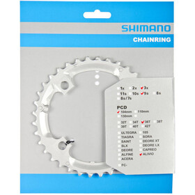 Shimano Alivio FC-M431 Chain Ring 9-speed silver